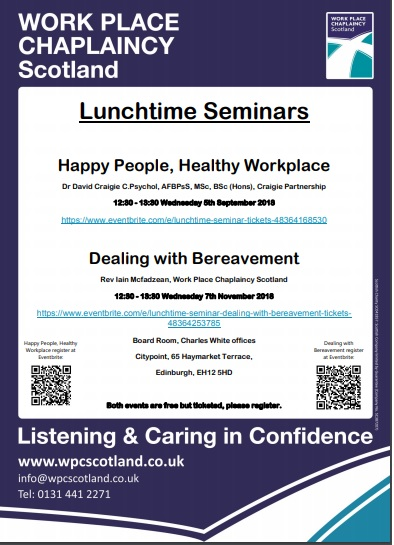 Lunch Time Seminars