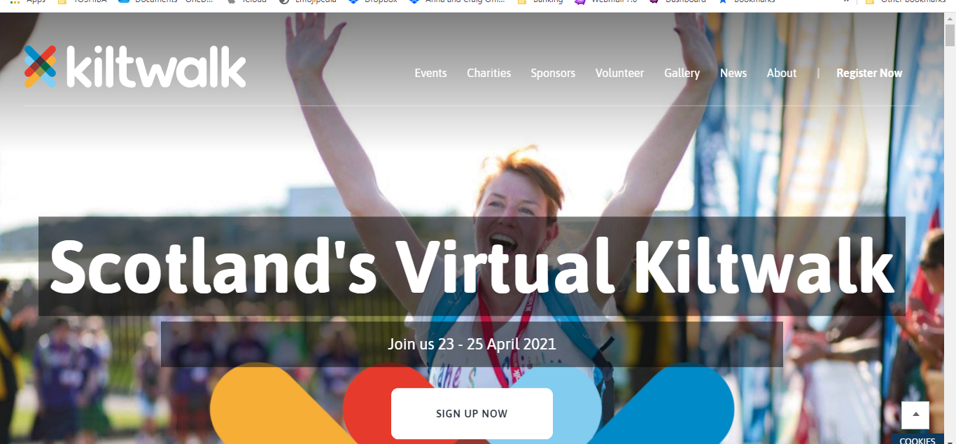 Scotlands Virtual Kiltwalk